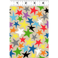 NEW You Are Amazing Stars Taupe by Katie Webb for Clothworks