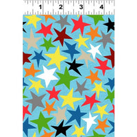 NEW You Are Amazing Stars Blue by Katie Webb for Clothworks