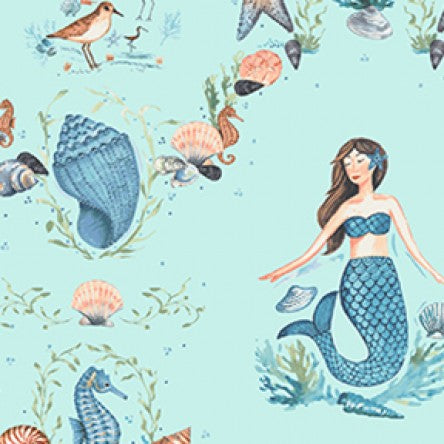NEW By the Seashore Mermaids  by Clothworks