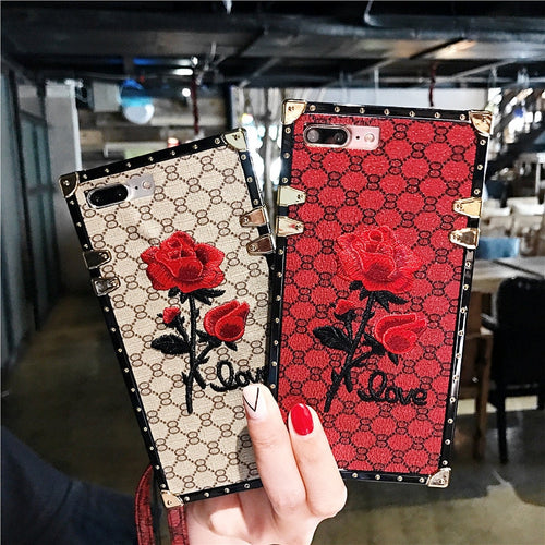CHIEMSEELIKES♥️STYLE Case für Huawei Smart-Phone ROSE