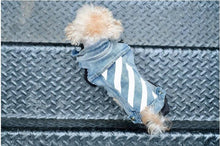 Load image into Gallery viewer, Exclusive cute denim dog vest elegant for pets