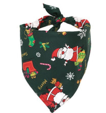 Load image into Gallery viewer, Dog bandanas christmas for a unique day