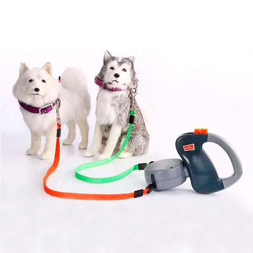 Dual leash for dogs - dog4shine