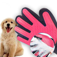 Load image into Gallery viewer, Pet Grooming Gloves - Hair Removal for Dogs - dog4shine