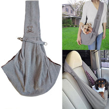 Load image into Gallery viewer, Small Dog Sling Carrier Bag Travel Shoulder Carry - Small dog carrying - dog4shine