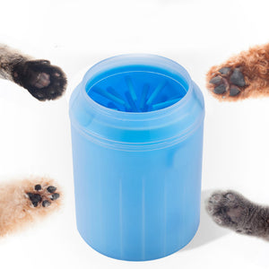 Awesome paw cleaner improving in cup portable