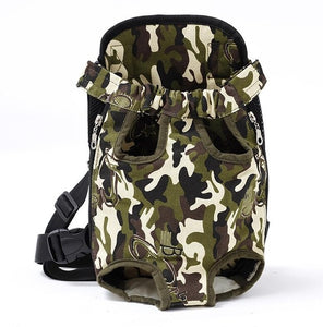 Pet Dog Backpack Mesh Camouflage for Small Dog - Small bag carrying - dog4shine