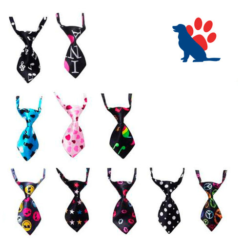 Pet tie with unique themes - dog4shine