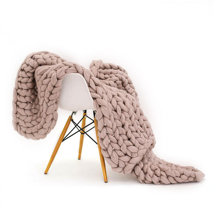 Chunky Knit Throws