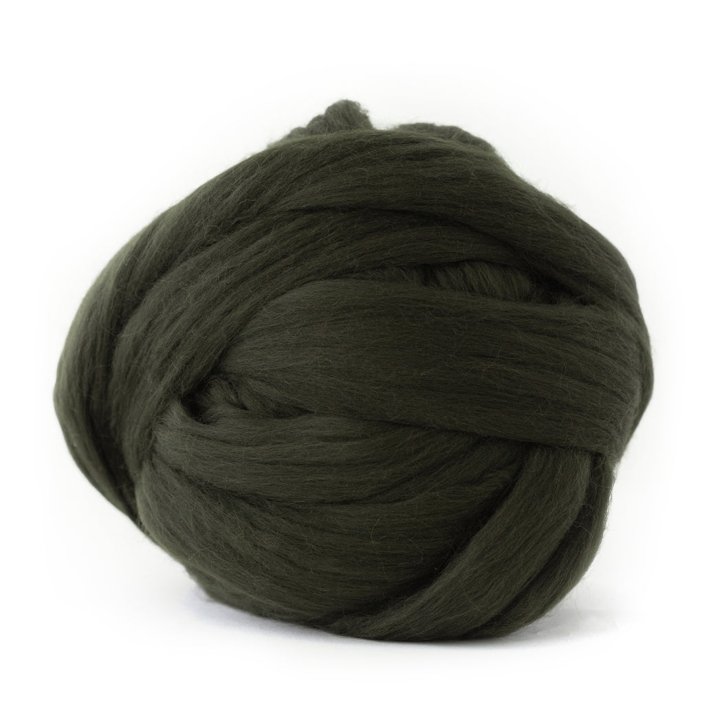 Olive Green Merino Wool
