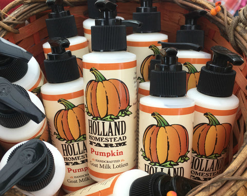 Pumpkin Spice 4 ounce Goat Milk Lotion