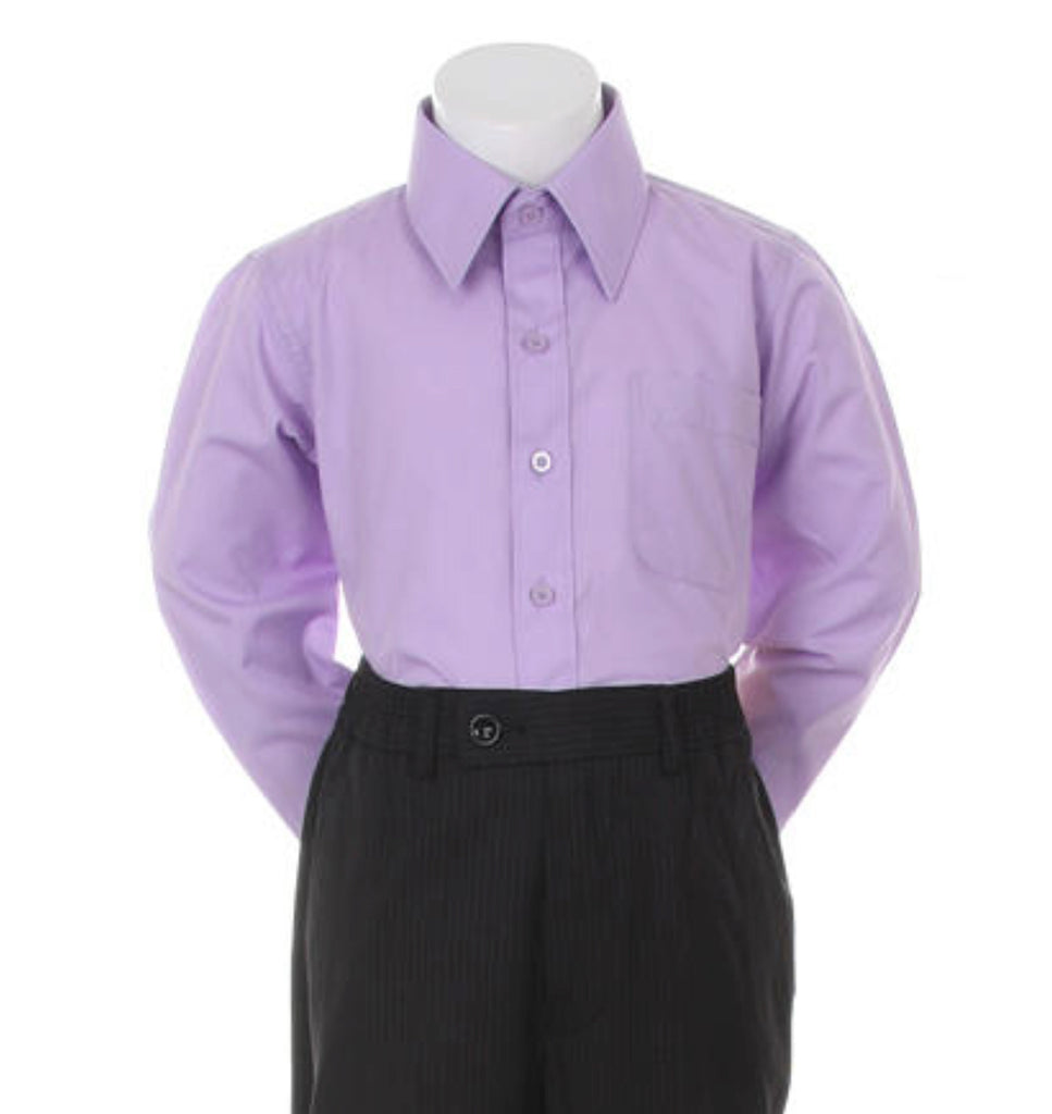 Boys Dress Shirt (Black)