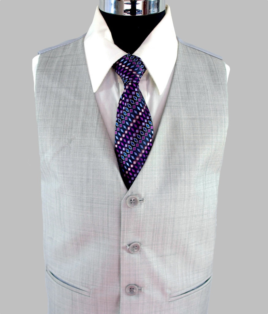 'Daniel' Suit (Light Grey)