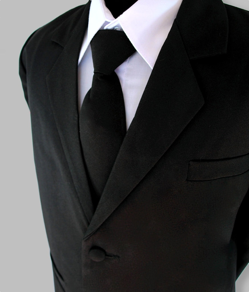 'Jack' 5 piece suit (Black)