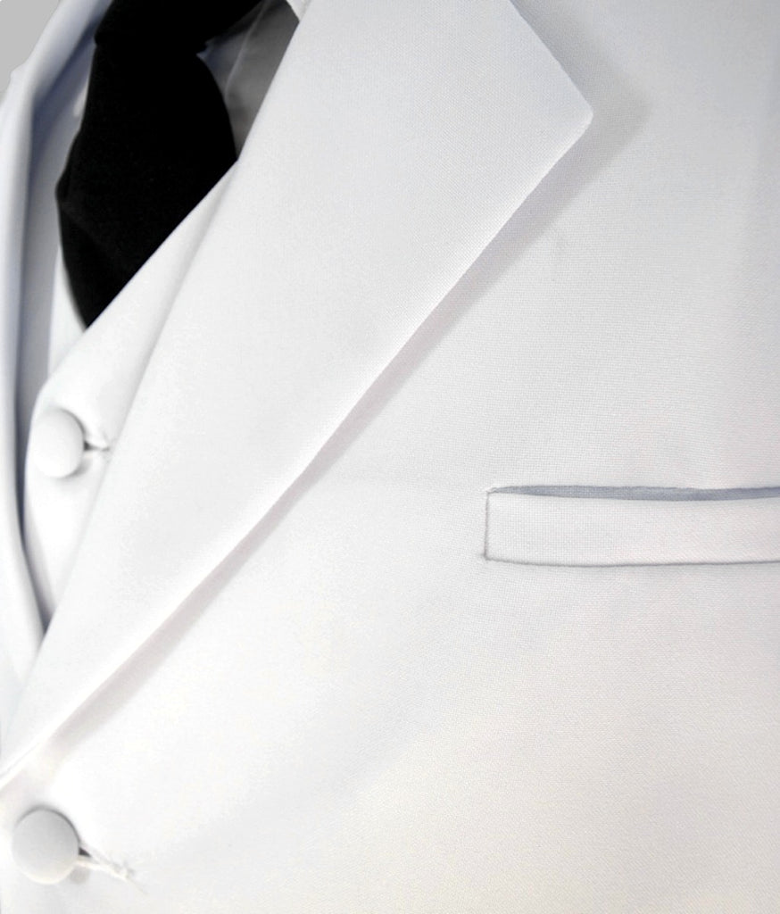 Boys white suit 5 piece set