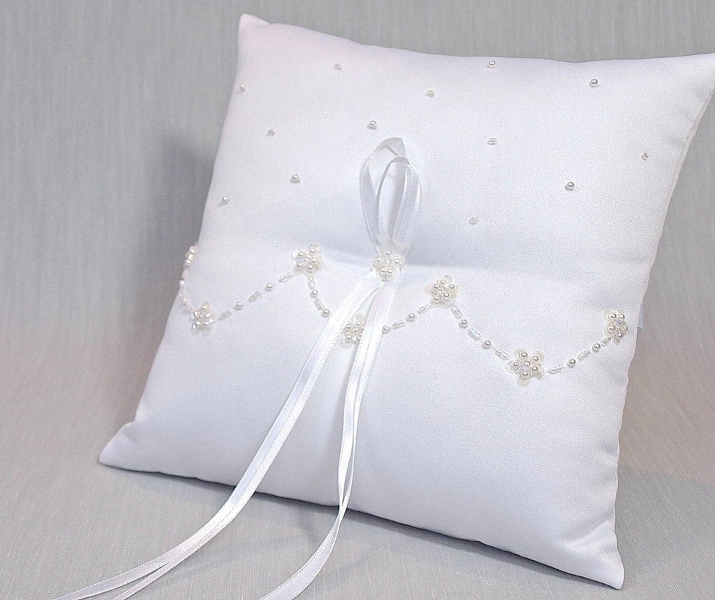 Purity ring pillow