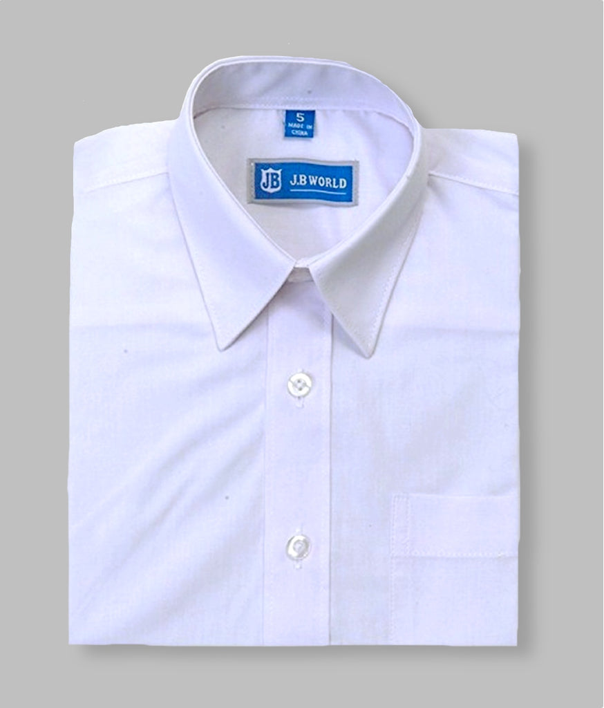 Boys Dress Shirt (White)