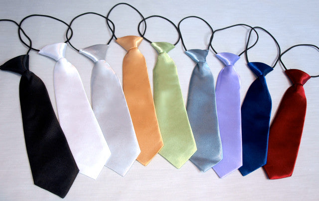 Boys Satin Neck Tie