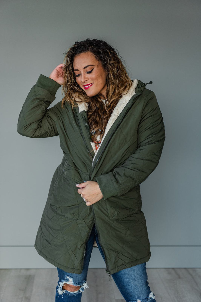 Bundle Up Reversible Jacket