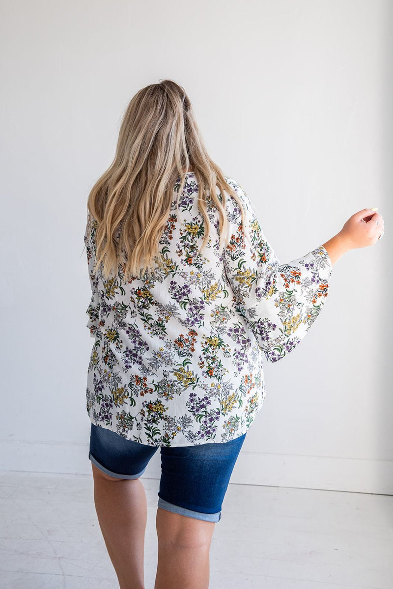 Just You Wait Floral Top