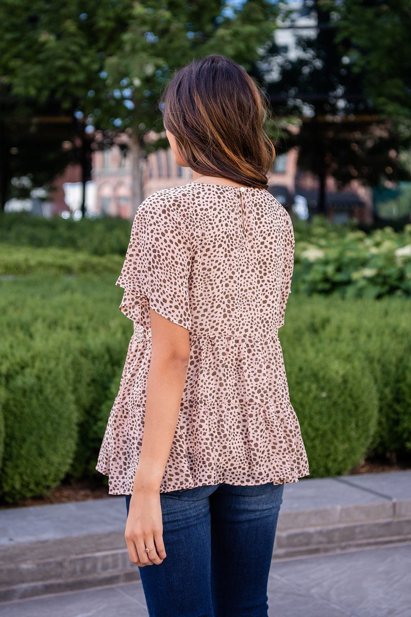 Frill Time Tiered Top