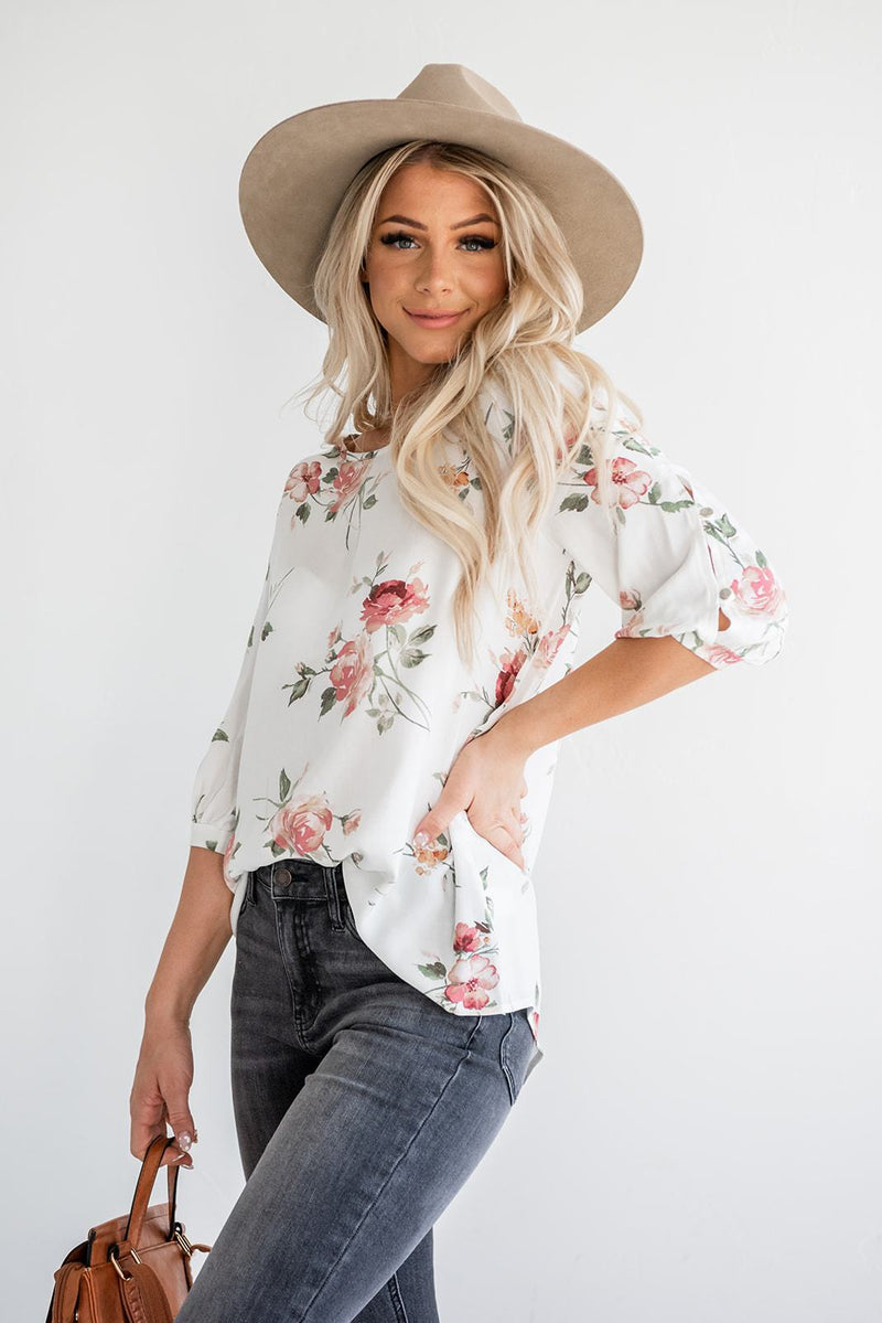 Care For You Floral Top