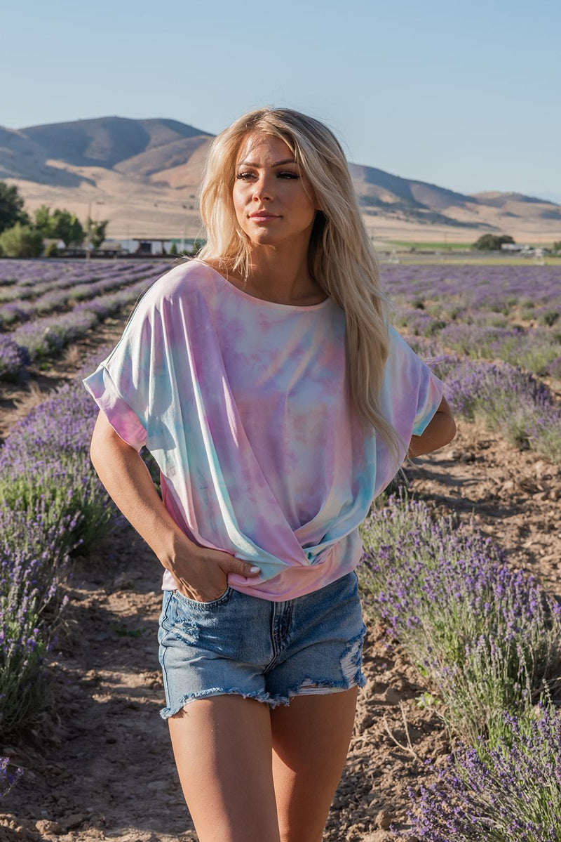 Bring You Home Tie Dye Top
