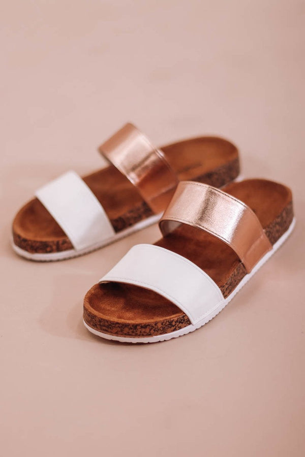 Hello Summer Two Band Sandal