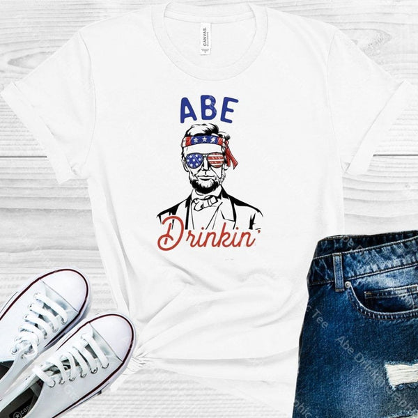 Abe Drinkin Graphic Tee Graphic Tee