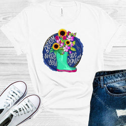 Bloom Where You Are Planted Graphic Tee Graphic Tee