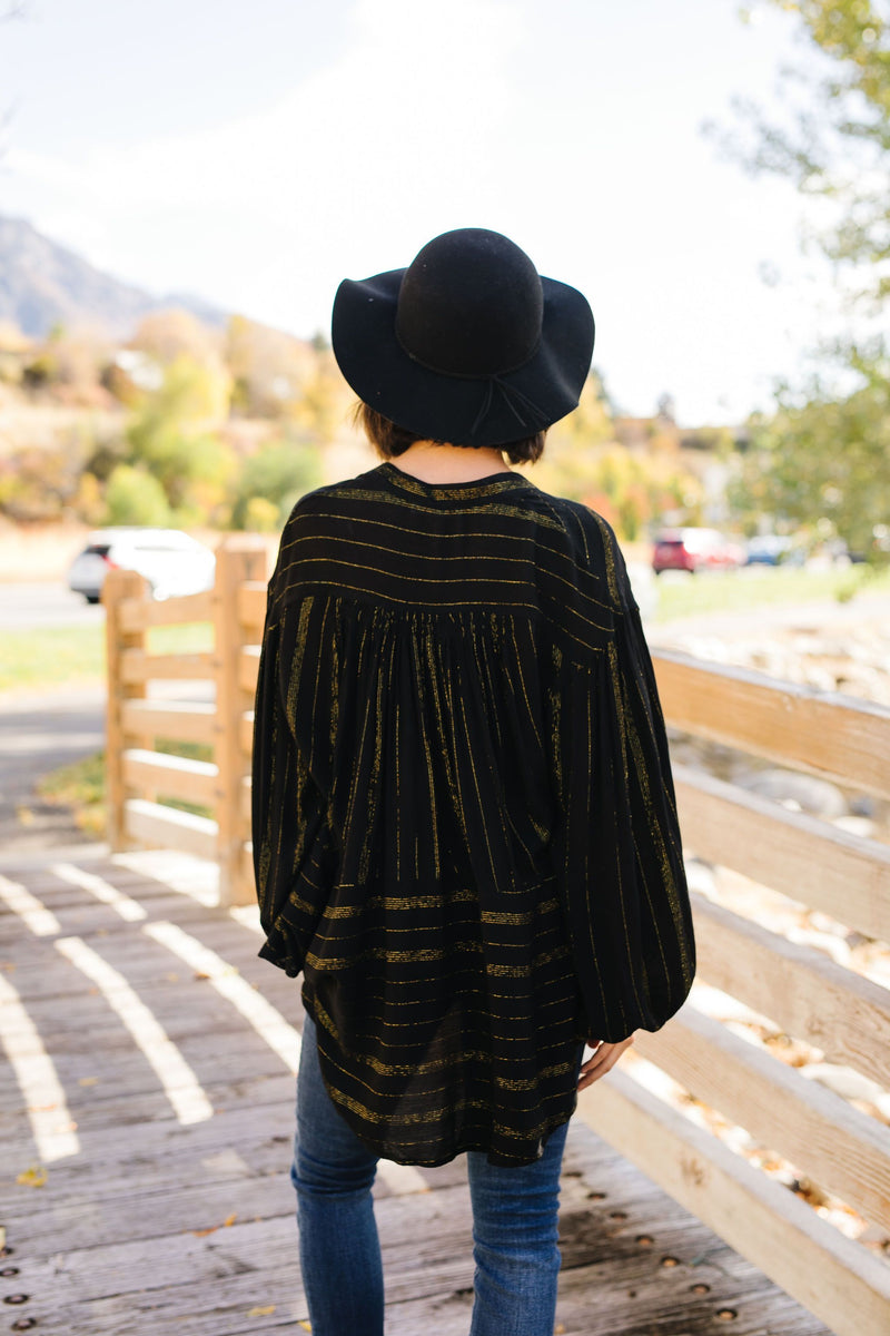 Boho Luxe Peasant Blouse