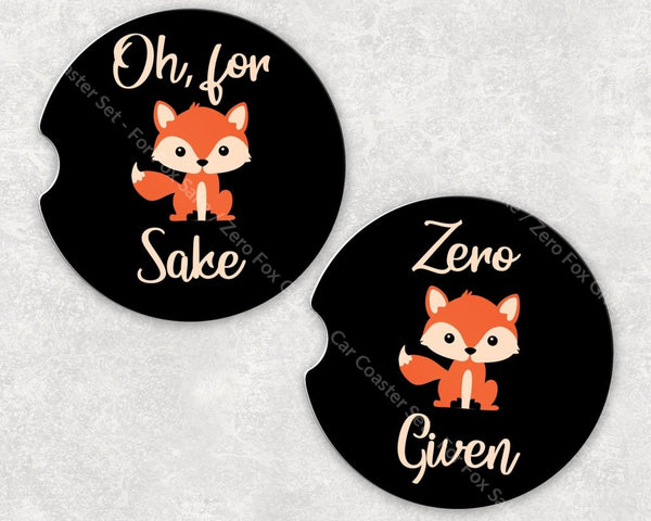 Car Coaster Set - For Fox Sake / Zero Given