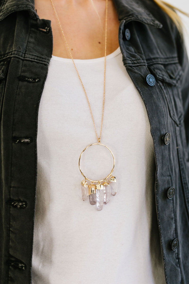 Fortress Of Solitude Necklace