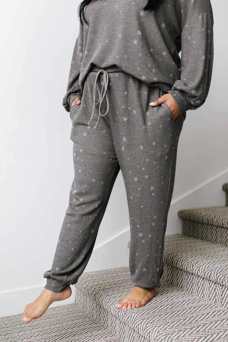Galaxy Charcoal Joggers