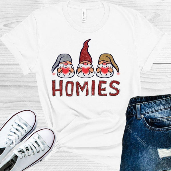 Gnome Homies Valentines Day Graphic Tee Graphic Tee