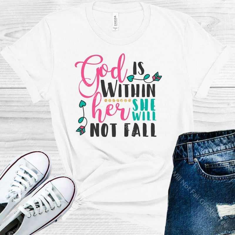 God Is Within Her She Will Not Fail Graphic Tee Graphic Tee