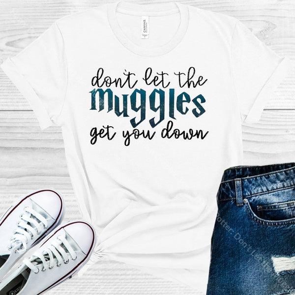 Harry Potter: Dont Let The Muggles Get You Down Graphic Tee Graphic Tee