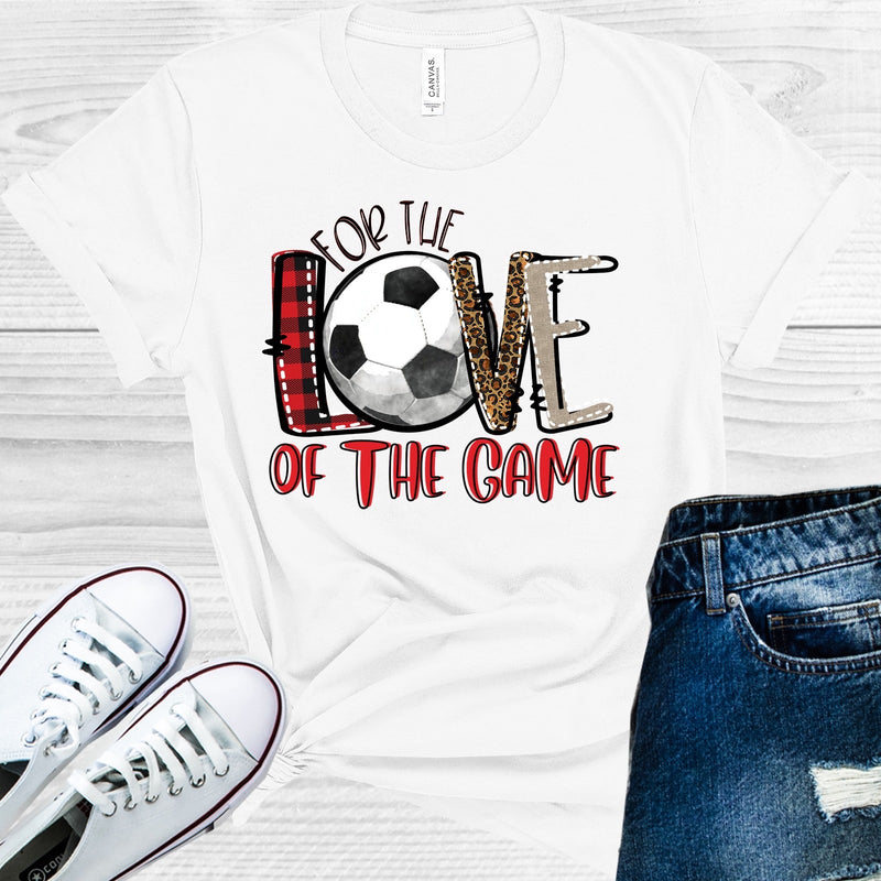 For the Love of The Game - Soccer(as shown) M