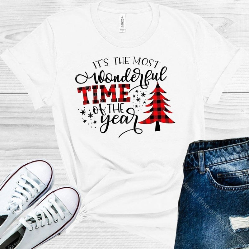 Its The Most Wonderful Time Of Year Graphic Tee Graphic Tee