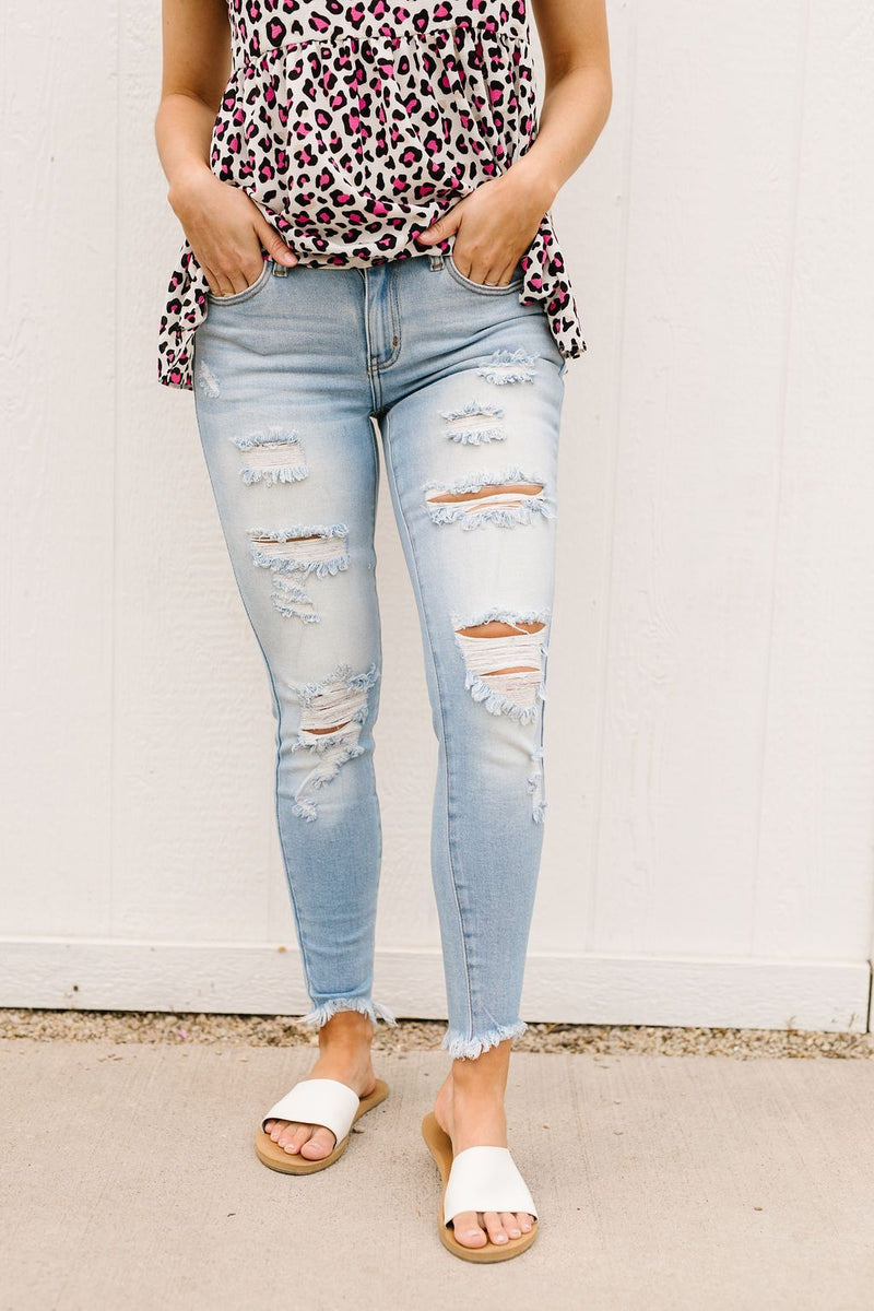 Lighten Up Jeans