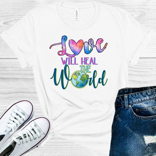 Love Will Heal The World Graphic Tee Graphic Tee