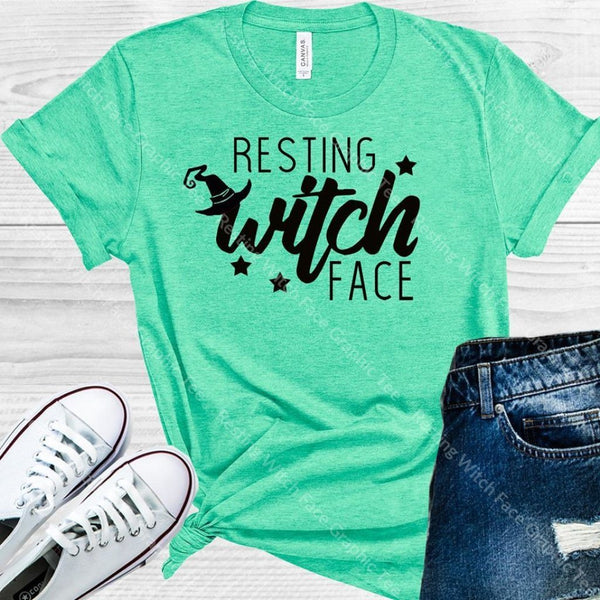 Resting Witch Face Graphic Tee Graphic Tee