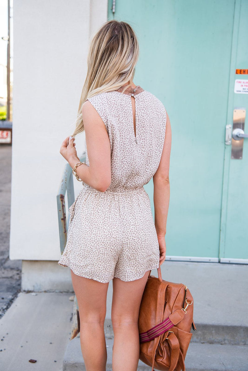 Modern Beauty Lace Romper