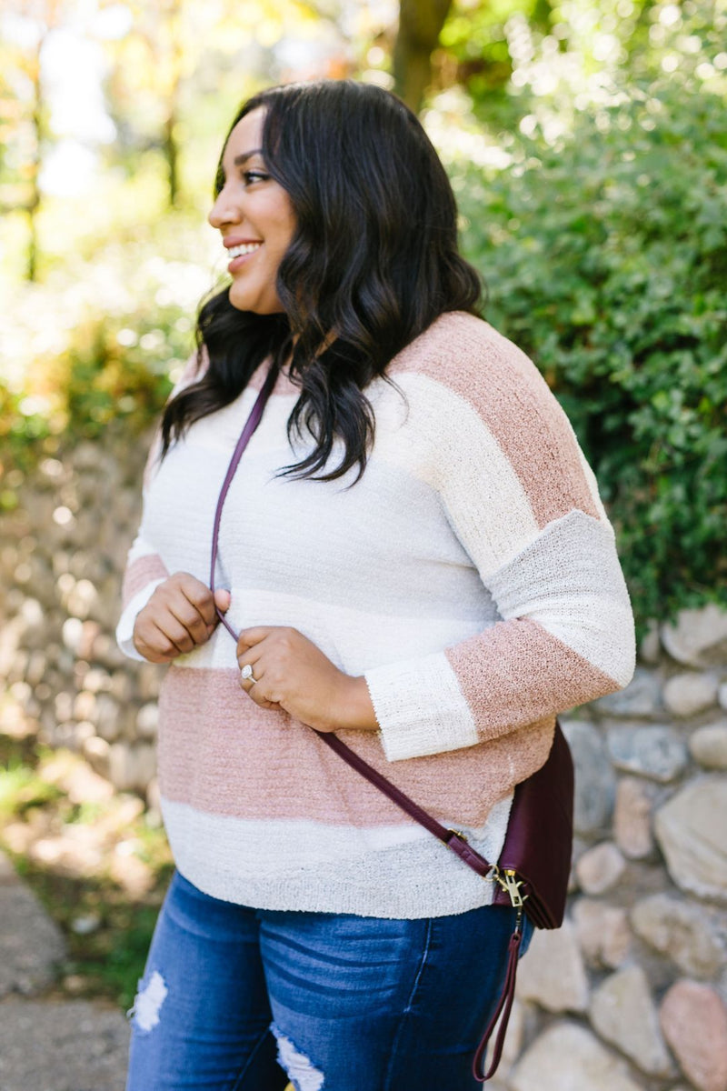 Serenity Color Block Sweater