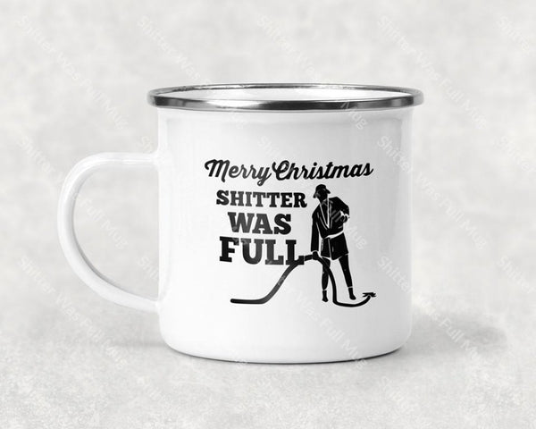 Shitter Was Full Mug Coffee