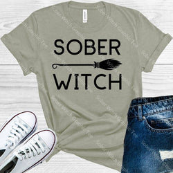 Sober Witch Graphic Tee Graphic Tee