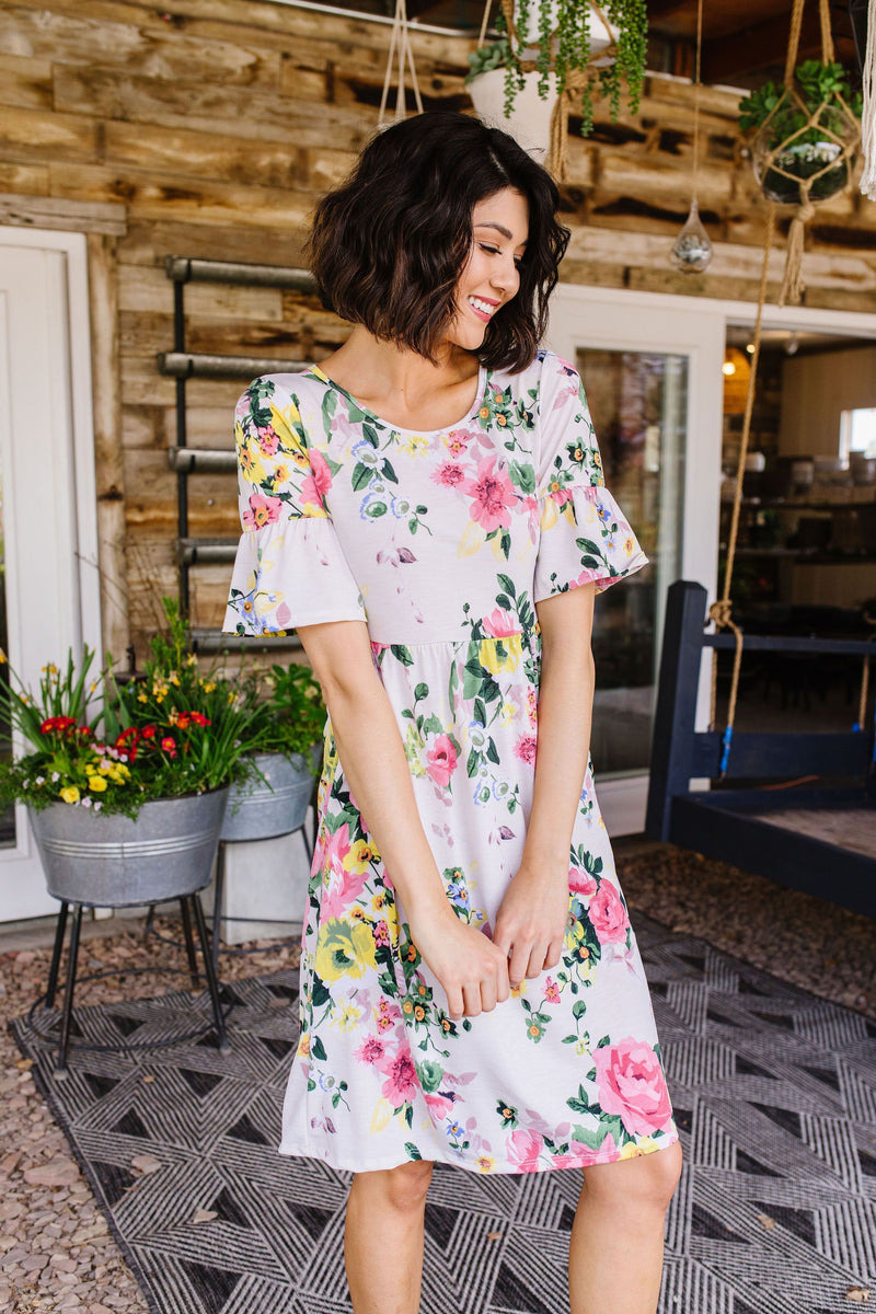 Spring In Your Step Dress