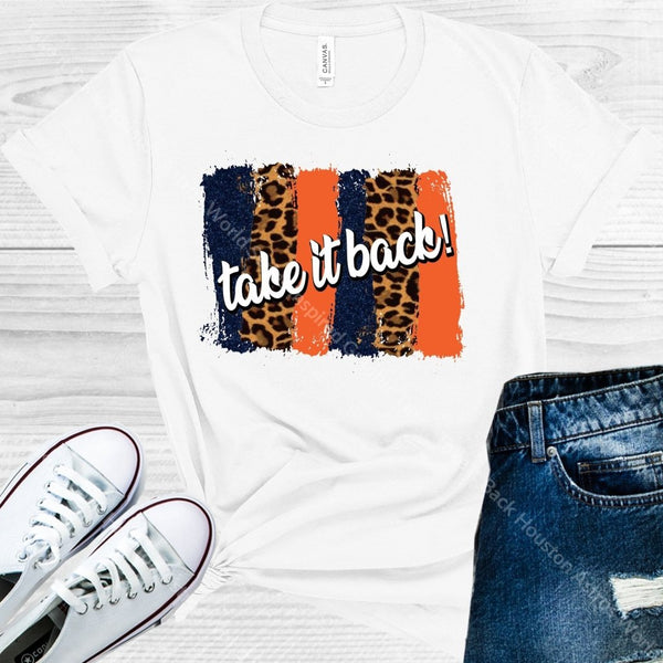 Take It Back Houston Astros World Series Inspired Graphic Tee Graphic Tee