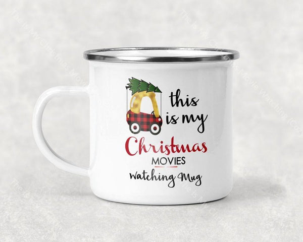 The Is My Christmas Movie Watching (Cozy Coupe) Mug Coffee