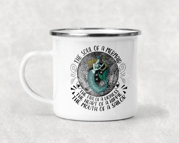 The Soul Of A Mermaid Mug Coffee